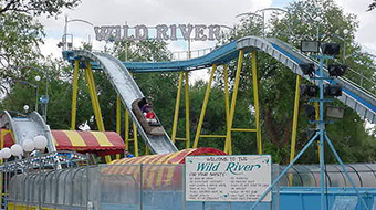Wild River Log Flume
