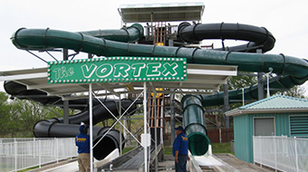 Vortex Water Coaster